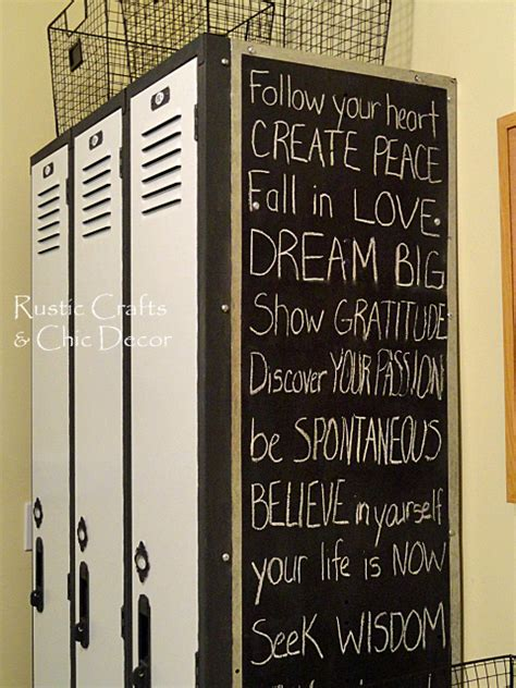 diy chalkboard for locker diy locker makeover hometalk