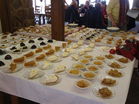 dessert table thanksgiving buffet picture of the