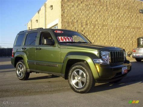 2008 jeep green metallic jeep liberty sport 4x4 15919605 gtcarlot car color galleries