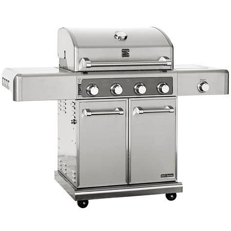 kenmore 4 burner stainless steel kenmore elite 4 burner stainless steel gas grill sears