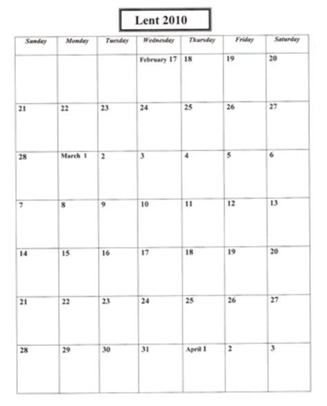 lenten calendar | praying in color part 2