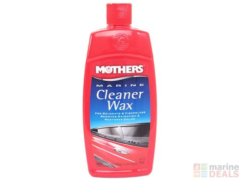 boat wax nz buy mothers marine cleaner wax 473ml online at marine