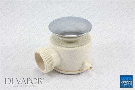 Bath Shower Mixer Taps Uk di vapor r steam shower waste drain trap with chrome