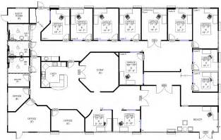 floor plan of office office building plans images