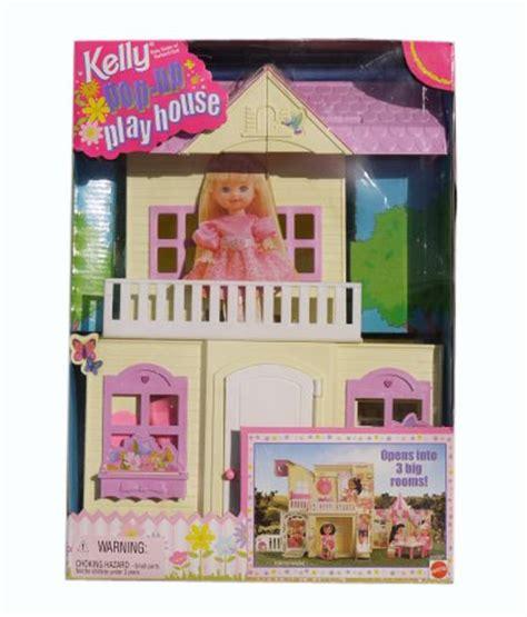 buy dolls house online mattel barbie kelly pop up playhouse rare doll house
