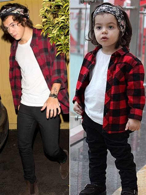 how old is harry styles in 2015 these 7 photos of a 2 year old harry styles lookalike will