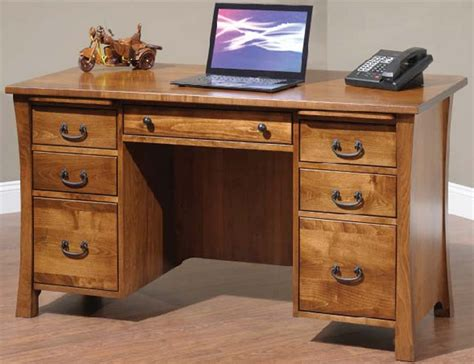 Amish Executive Desk by Woodbury Executive Desk From Dutchcrafters Amish Furniture