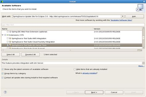 Sts And Other Tools Clear St springsource tool suite sts でvirgoを動かしてみる clover