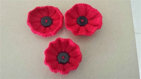 knitting pattern red poppy great lakes 5000 poppies project knitted poppy patterns