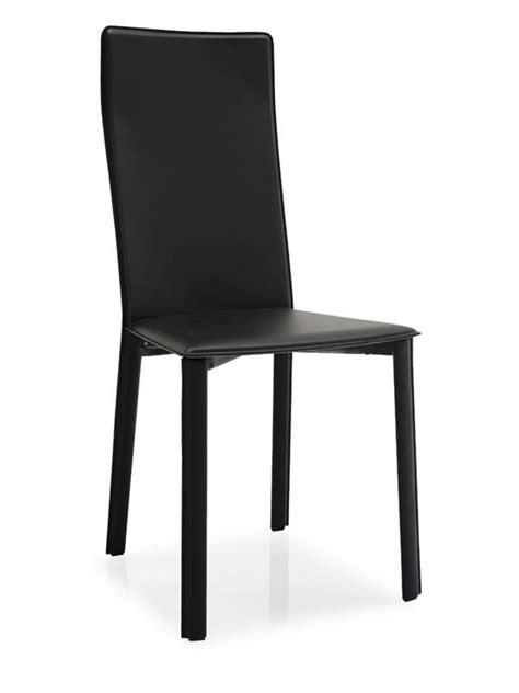 sedie in cuoio calligaris cb1275 slim sedia connubia calligaris rivestita