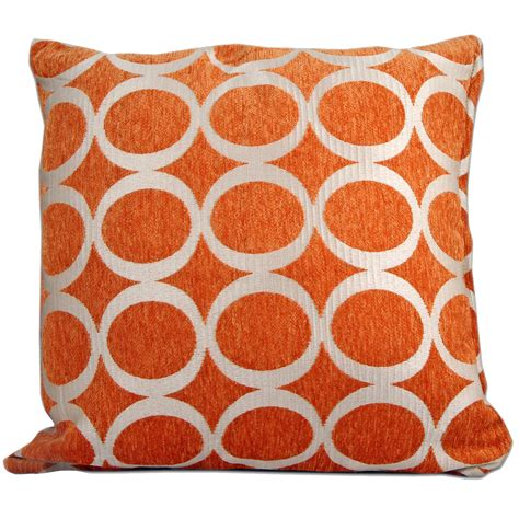 2 Cushion Covers Retro Modern Chenille Cushions 2 Sizes Small Large