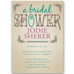 bridal shower invitations at wedding invites