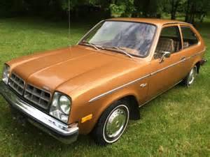 1978 chevrolet chevette 2 door hatchback barn find chevy