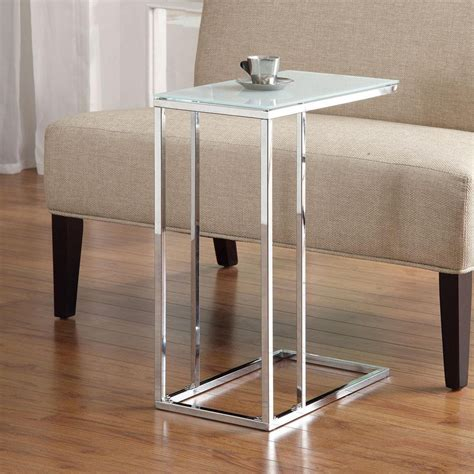 Sofa Accent Table 23 Modern Slide Under The Sofa Side Sofa Accent Tables