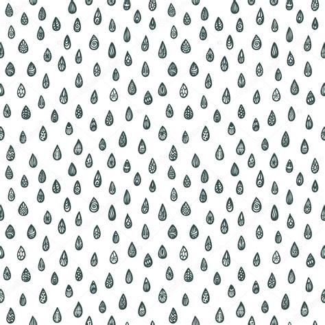 seamless pattern download seamless pattern with zentangle raindrops stock vector