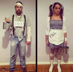jack  jill couples halloween costume idea cool