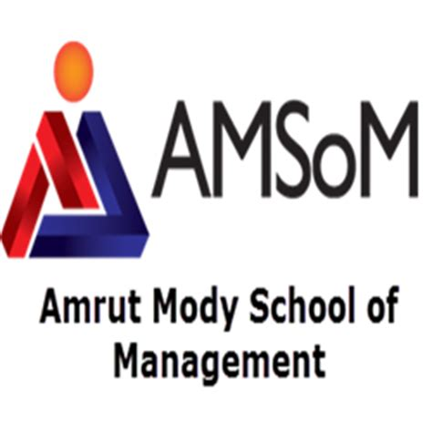 Amsom Mba Fees by Amrut Mody School Of Management Amsom