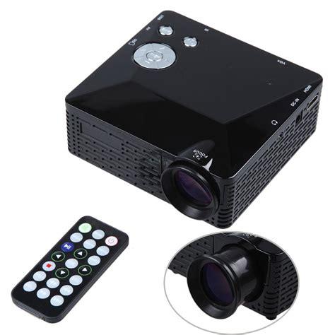 Mini Projector Led Hdmi dbpower mini led projector bl 18 lcd portable pico projektor 500lumen hd av vga sd usb hdmi