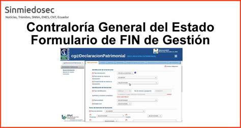 www contraloria general de estado declaracion uramentado formulario declaracion juramentada de bienes contraloria