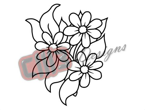 Incredible Hulk Wall Stickers flowers bloom outline wall art dxf file design dmb designs
