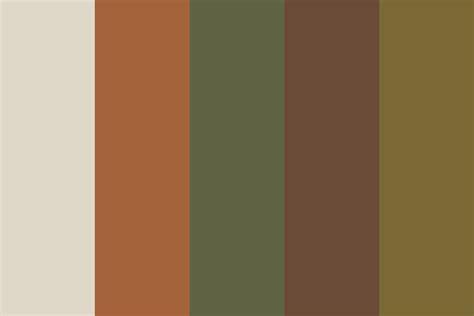 bark color tree bark 3 color palette