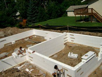 foam basement forms foundation types