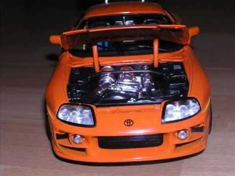 Toyota Supra Remake Slrr The Fast And The Furious Paul Walker