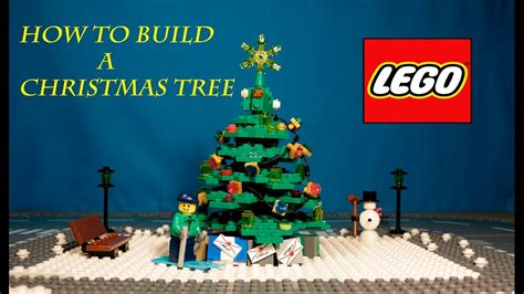 how to make a lego christmas tree how to build a lego tree