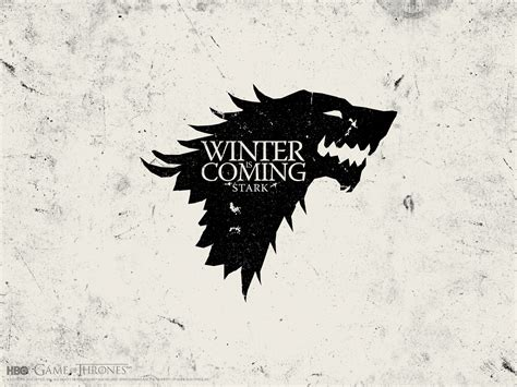 house stark house stark game of thrones wallpaper 20596053 fanpop