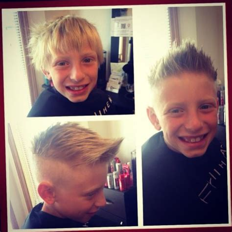 little boy undercutting back to school styles are in check out this boys undercut