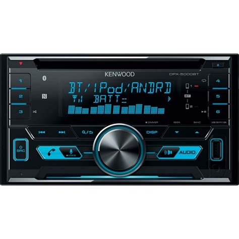 car stereo with usb kenwood dpx5000bt din car stereo with bluetooth