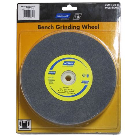 Norton 200 X 25 X 25 4mm Bench Grinding Wheel Bunnings