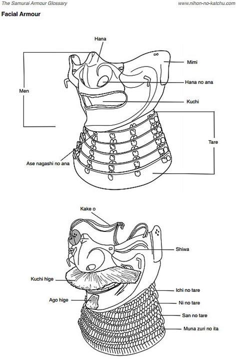 samurai helmet template 17 best ideas about samurai armor on