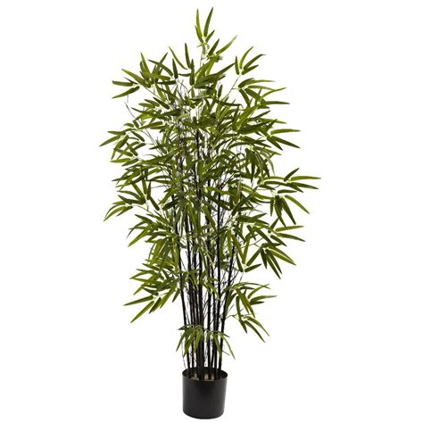 silk plants 4 black silk bamboo tree artificial trees silk trees