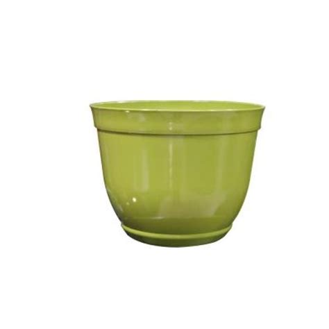 Large Planters Home Depot by Alpine 15 In Large Light Green Bowl Plastic Planter
