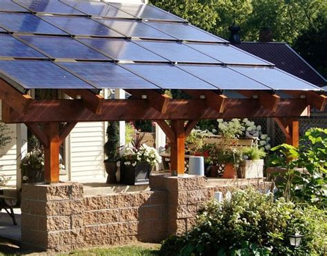 patio solar panels 235 best images about southwestern landscaping and patio ideas on adobe covered