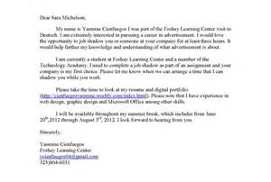 Community Cover Letter by Sle Cover Letter Yasmine Cienfuegos