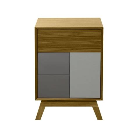 Grey Side Table Buy Fusion Living Oak And Grey Side Table