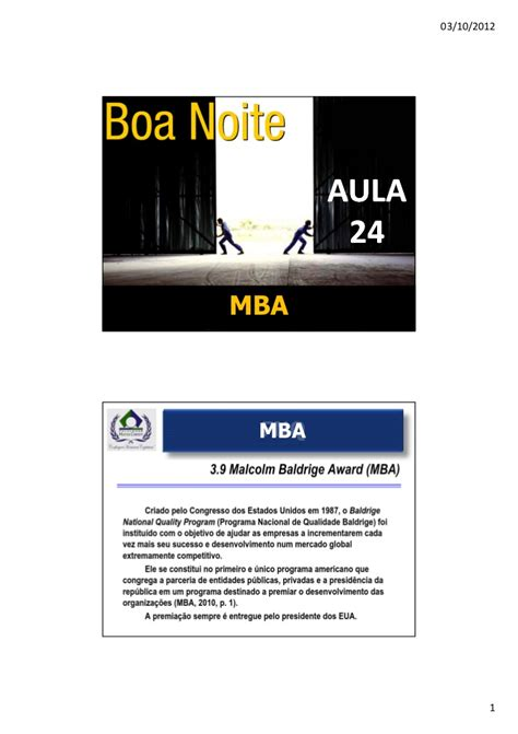 Cd Mba by Aula 24 Mba