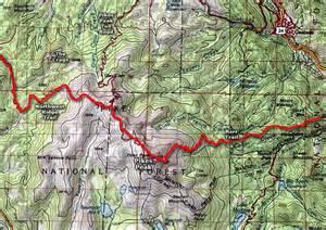 map of pikes peak colorado pikes peak