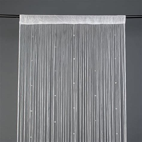 tende con frange season tenda a frange con perline di cristallo bianco