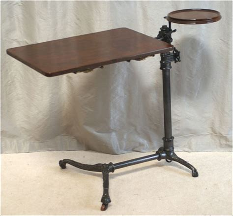 Stand At Desk 7004 Antique Patent Reading Table Stand J Foot Quot Adapta