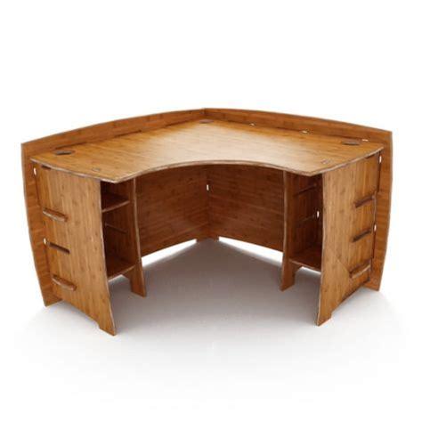 47 Quot W Legare Bamboo Corner Desk Officefurniture Com Bamboo Corner Desk