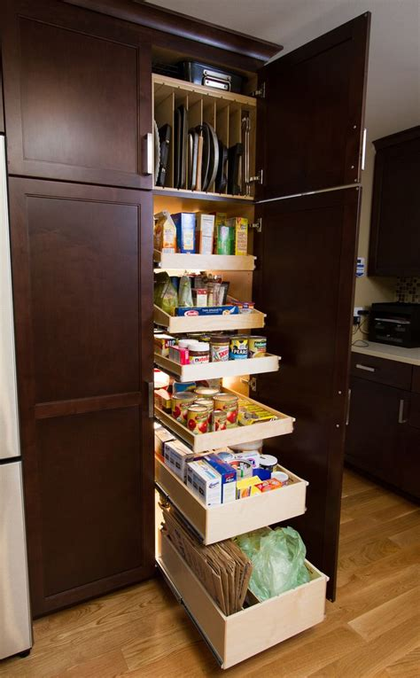 Pull Out Pantry by 17 Best Ideas About Slide Out Shelves On