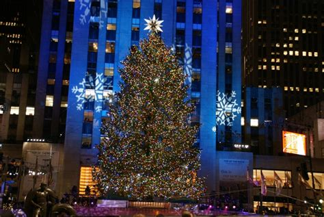 xmas tree lighting nyc
