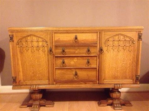 Utility Furniture 1940s by 1940 S Utility Furniture Oak Sideboard In Haslingden