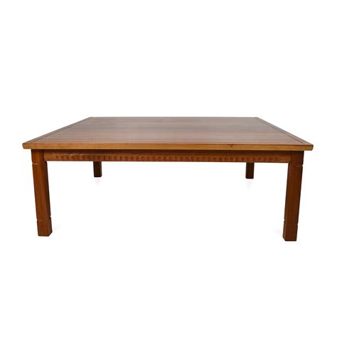 Handcrafted Wood Coffee Table - quality coffee tables