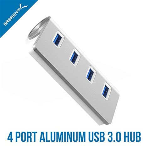 Mini Usb 20 Hub 3 Port 2010 sabrent premium 4 port aluminum usb 3 0 hub 30 quot cable for imac macbook macbook pro macbook