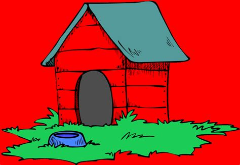 dog house wallpaper cartoon dog house pictures cliparts co