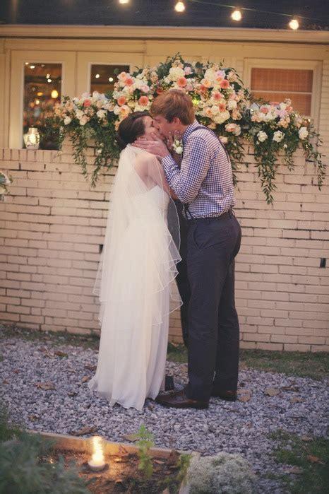 backyard garden wedding backyard garden wedding in memphis tn bride link